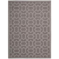 Nourison Barcelona Grey 7 ft. 9 in. x 9 ft. 9 in. Area Rug-090638 at The Home Depot. 8x10.   399.00.  Hand tufted