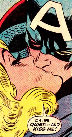 jthenr-comics-vault: Cap & Sharon Carter CAPTAIN AMERICA #142 (Oct. 1971)Art by John Romita Sr. (pencils) & Joe Sinnott (inks)