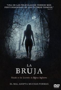 DESEMBRE-2016. La bruja. DVD Terror EGG.