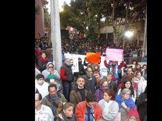 Manifestantes responsabilizaron a Calderón Hinojosa de ?ser cómplice? de la quiebra de la aerolínea