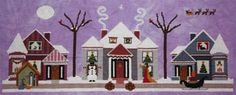 ixstitch.com - Merry Christmas Eve - Cross Stitch Pattern