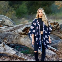 Lightweight Kimono, open air coverup. Full kimono, not sewn together like a cardigan so you can flow and dance freely through the night. NXSW Tops