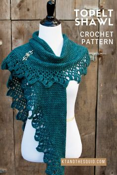 Introducing my latest design, the Topelt Shawl! This elegant shawl was designed for Yarnbox's February 2017 Classic Box. The construction is simple and a great intro to working short rows. First, t…