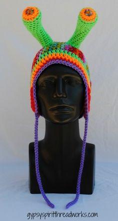 Gypsy Spirit Cosmic Glow Slug Hat