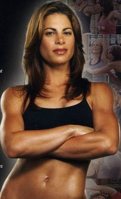 MY #1 HERO! She's the only person with PCOS that I know of that's totally in shape. She makes feel like I can be too.