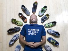 Shod & ready: Shoes hold the stories of races past #running #shoes