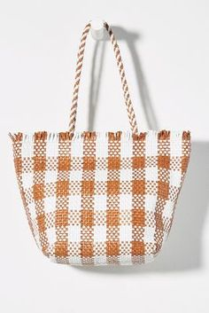 Loeffler Randall Tatia Tote Bag by in Brown Size: All, Bags at Anthropologie Pencil And Paper, Leather Fringe, Summer Bags, Loeffler Randall, Papers Co, Italian Leather, Bag Accessories, Hand Weaving, Pairs