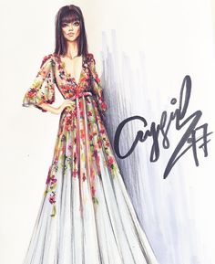 AYGUL_SAFARLI #Fashionillustrations| Be Inspirational ❥|Mz. Manerz: Being well dressed is a beautiful form of confidence, happiness & politeness