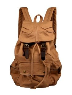 Rucksack Thick Canvas Backpack School Bag Great for School and Camping with Genuine Leather Straps B1038 augar http://www.amazon.com/dp/B00DQB4OL6/ref=cm_sw_r_pi_dp_dHCavb1XFBTMK