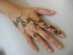 Cute henna designs.....