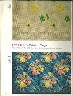 Mattor. Pabco floors for the young in heart 1956.
