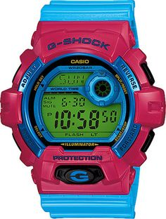 July 2013 Release G-Shock Crazy Colors Series // G-8900SC-4JF // Free Shipping within Australia // #gshock #watch #watches #Australia #FreeShipping