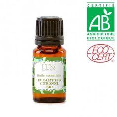 L'huile essentielle MIRACLE contre les moustiques: (mieux que la citronnelle, le géranium ... etc):  L'EUCALYPTUS CITRONNÉ !!!! Formule simple d'huile anti-moustiques: Diluez dans 45 ml d'huile végétale de noisette ou de noyau d'abricot, 1 ml d'huile essentielle de citronnelle de java, 1 ml d'He d'eucalyptus citronné.