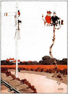 Famed for his illustrations of absurd contraptions, why is Heath Robinson still so popular? Book Cover Art, Book Art, Heath Robinson, Self Photography, Modern Victorian, Old Comics, Vintage Artwork, American Artists, Caricature