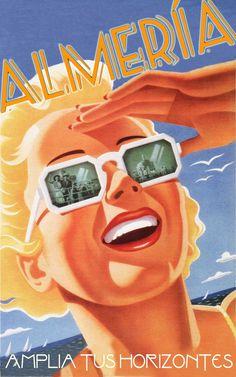 Almeria en vacaciones.