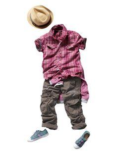 Camisa de mangas curtas, para menino  #camisa