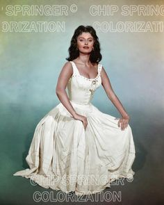 5 DAYS! 8X10 SOPHIA LOREN IN STUDIO PORTRAIT  COLOR PHOTO BY CHIP SPRINGER. Please visit my Ebay Store at http://stores.ebay.com/x5dr/_i.html?rt=nc&LH_BIN=1 to see all of your favorite Stars now in glorious color! Message me if you would like me to relist your favorites.