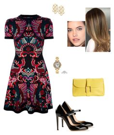 """""""Sem título #8364"""" by gracebeckett on Polyvore featuring Gianvito Rossi, McQ by Alexander McQueen, Cartier and Delvaux"""