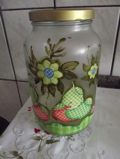 vidros decorados - Facebook.com/feitopormimartesanatoexclusivo