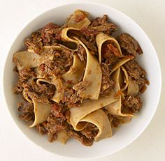 Pappardelle with Venetian duck ragu. Not much to look at, but soooo good.