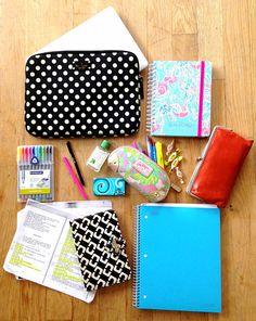 Check out what I carry in my school bag! handbagsandheartbeats.blogspot.com whatsinmybag