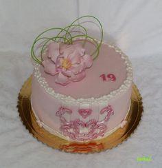 cake with magnolia - torta s magnóliou