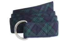 Chieftain's Tartan - Men's D−Ring Belt