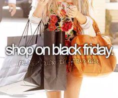 Shop on Black Friday
