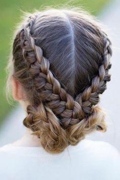 Flip Over Braid ❤️ We all know that over time, your kiddo gets bored with those ponytails and braids she wears every day. Let us respect her sense of fashion and vary her styling routine. See our picture gallery. ❤️ See more: http://lovehairstyles.com/cute-girls-hairstyles/ #lovehairstyles #hair #hairstyles #haircuts  #braids #braidedhairstyles