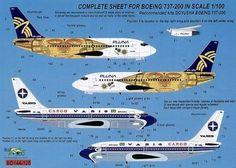 Boeing-737-200-Pluna-Varig-Cargo-For-Doyusha-Kit-Brasil-Decals-BD100-125-1-100