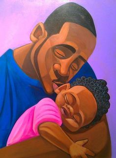 gOOd sLeepin by Cbabi Bayoc Loving 365 Days with Dad, African American Fathers With Their Children, check it out