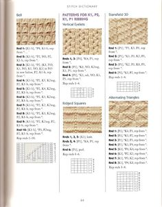 sokid - Alnirak - Picasa Web Albums  Click on arrows for more stitch and sock patterns.