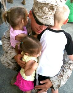 Saying goodbye: The beginning of deployment. good advice on dealing with a deployment when you have young kids