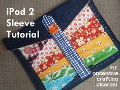 Five of the Best Tablet IPAD Case Tutorials | vicky myers creationsvicky myers creations