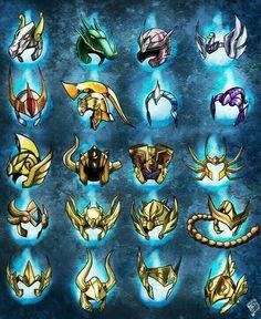 Cascos zodiaco