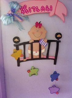 country madera para bebes - Buscar con Google Baby Shower Deco, Simple Baby Shower, Baby Boy Shower, Baby Shower Gifts, Baby Crafts, Diy And Crafts, Crafts For Kids, Baby Shawer, Baby Cartoon