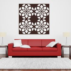 Floral Wall Decals -- Qxmall.com - #Floralwalldecal #walldecals #walldecors #wallarts