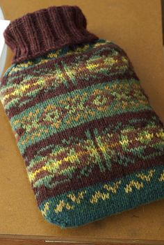 Ravelry: shade-knits' Hot Water Bottle Cover