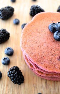 Gluten Free Beet Pancakes