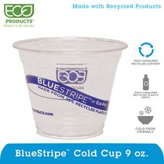 Eco Proudcts Clear Cold Cups 9 oz 50-count