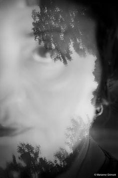 Marianne Grimont : Autoportrait.
