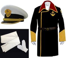 Yamato 2199 U2013 Captain Juzo Okita/Captain Abraham Avatar | The Outfit Cosplay And The Ou0026#39;jays