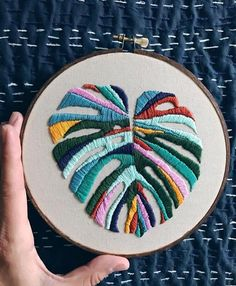 r/Embroidery: A community for hand and machine embroiderers to exchange tips, techniques, resources, and ideas. Abstract Embroidery, Embroidery Hoop Art, Hand Embroidery Patterns, Cross Stitch Embroidery, Embroidery With Beads, Embroidery Floss Crafts, Cactus Embroidery, Creative Embroidery, Modern Embroidery