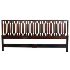 Mid-Century Modern, King Size Headboard by Kipp Stewart and Stewart McDougall | From a unique collection of antique and modern beds at http://www.1stdibs.com/furniture/more-furniture-collectibles/beds/