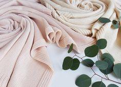 #powder pink #cotton #cream & #blush bedthrow by wannabedecor