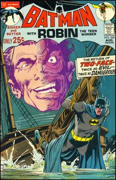 Batman with Robin the Teen Wonder #234 (1971) - cover by Neal Adams
