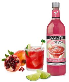 Pomegranates are delicious, no doubt, but they're tricky little things to prepare and squeeze into a cocktail. So, let us do the hard work for you. All you need to do is chill and enjoy our delicious Daily's Pomegranate Margarita, because the alcohol is already in it.