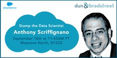 Come to #DF15 with your wildest data conundrum for our data scientist, Anthony Scriffignano! https://success.salesforce.com/Ev_Sessions?eventId=a1Q30000000DHQlEAO#/sessions #DnBData