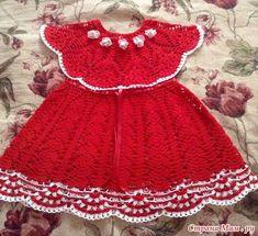 Lindos vestidinhos em crochê