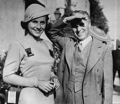 Paulette Goddard and Charlie Chaplin  1933